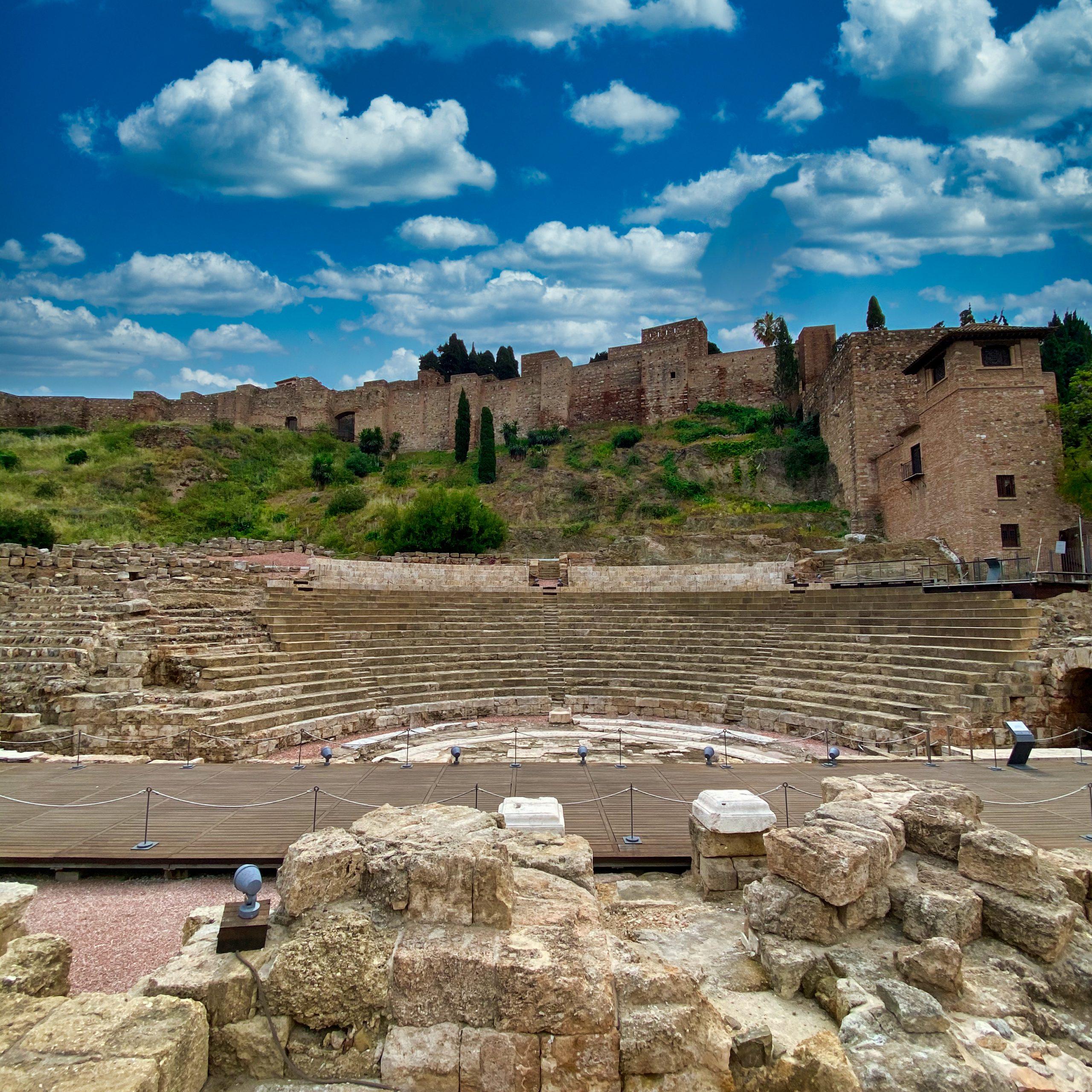 Römisches Theater und Festung Alcazaba