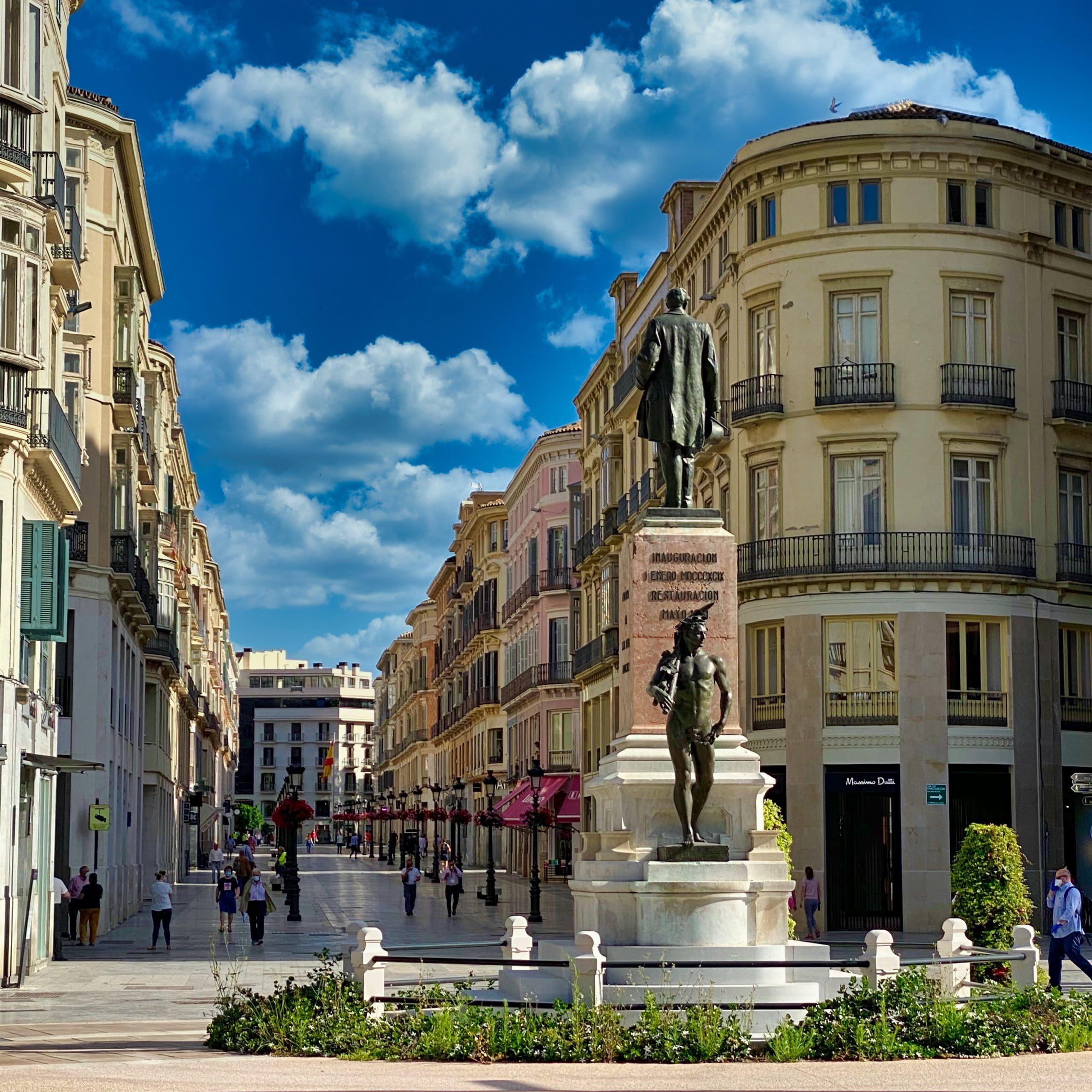 Main street Larios Street