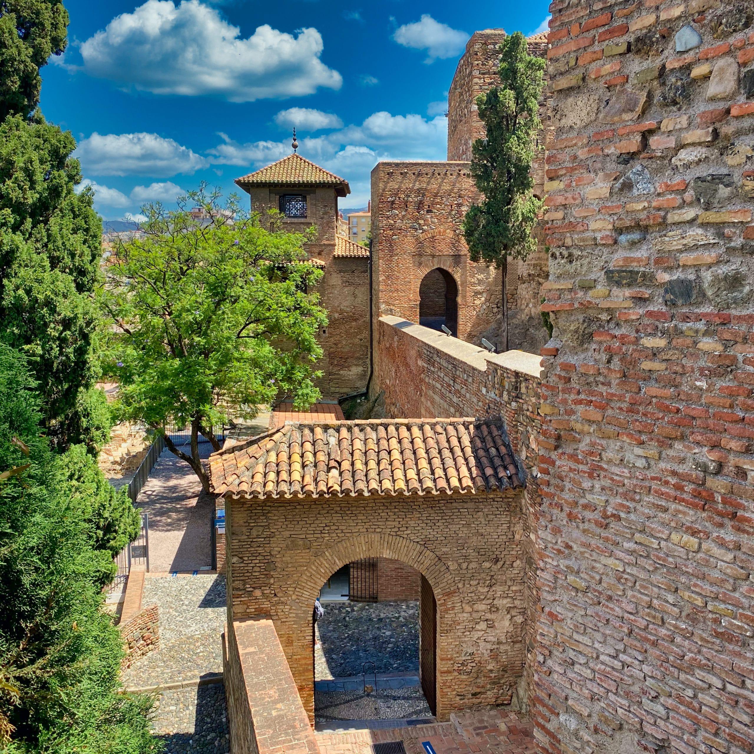 Interior Alcazaba de Malaga