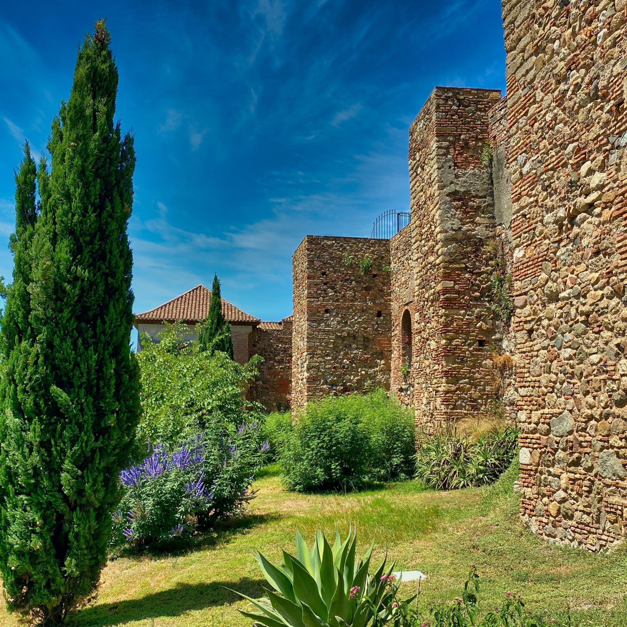 Walls Alcazaba de malaga