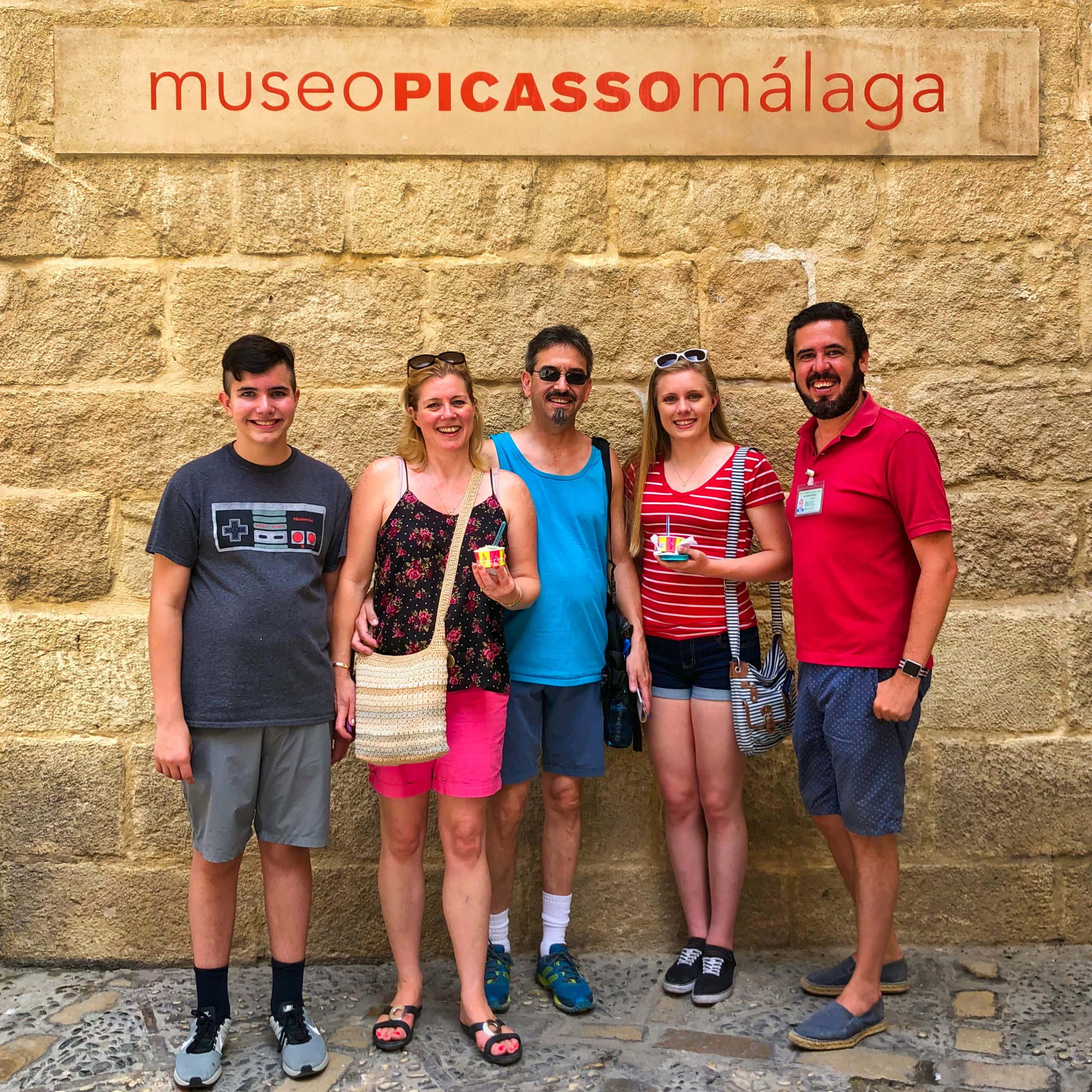 Ready to visit Picasso Museum