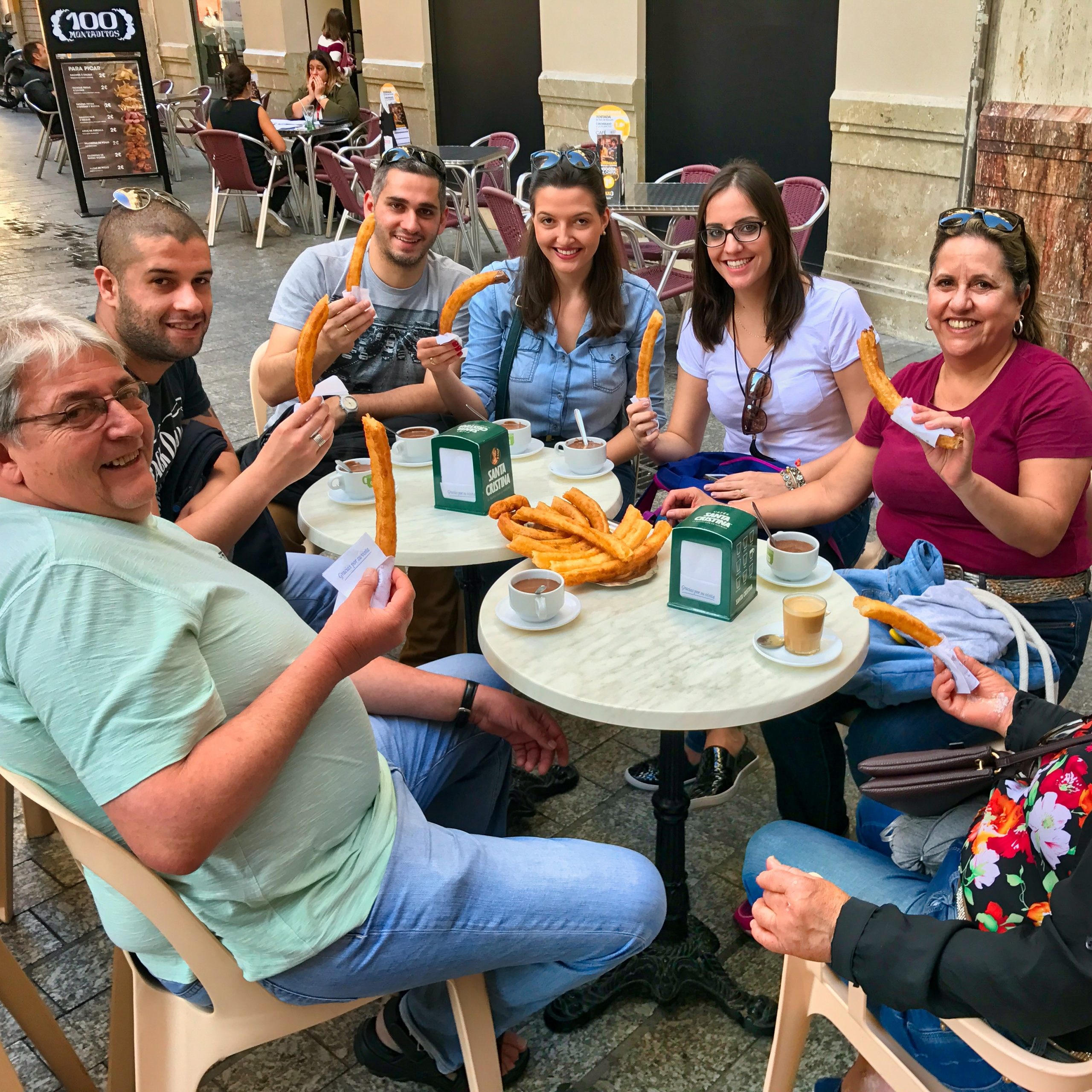Chocolate and Churros in our Walk & Taste Tour in Malaga