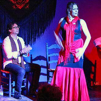 Pure flamenco essence