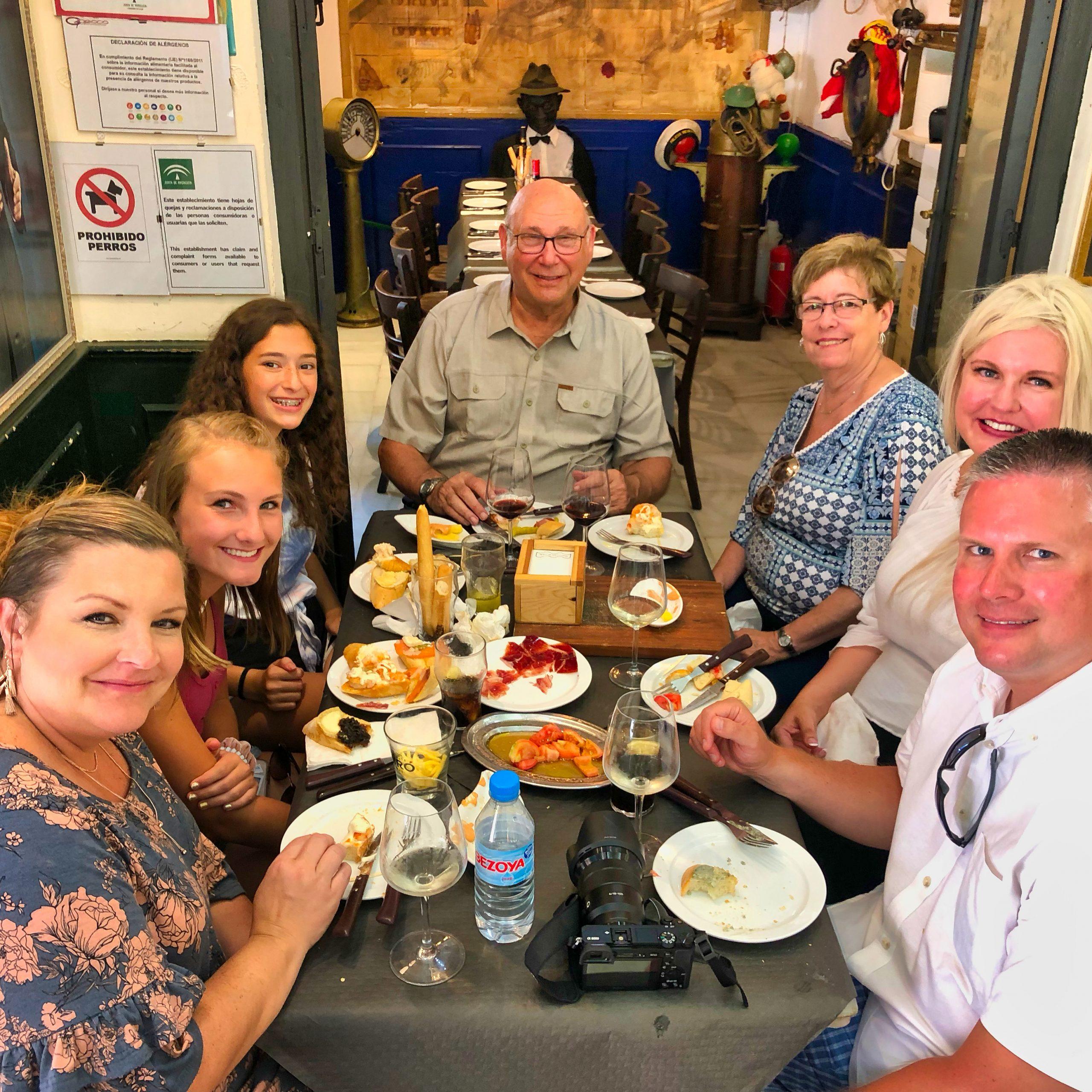 Gourmet tapas tour in Malaga