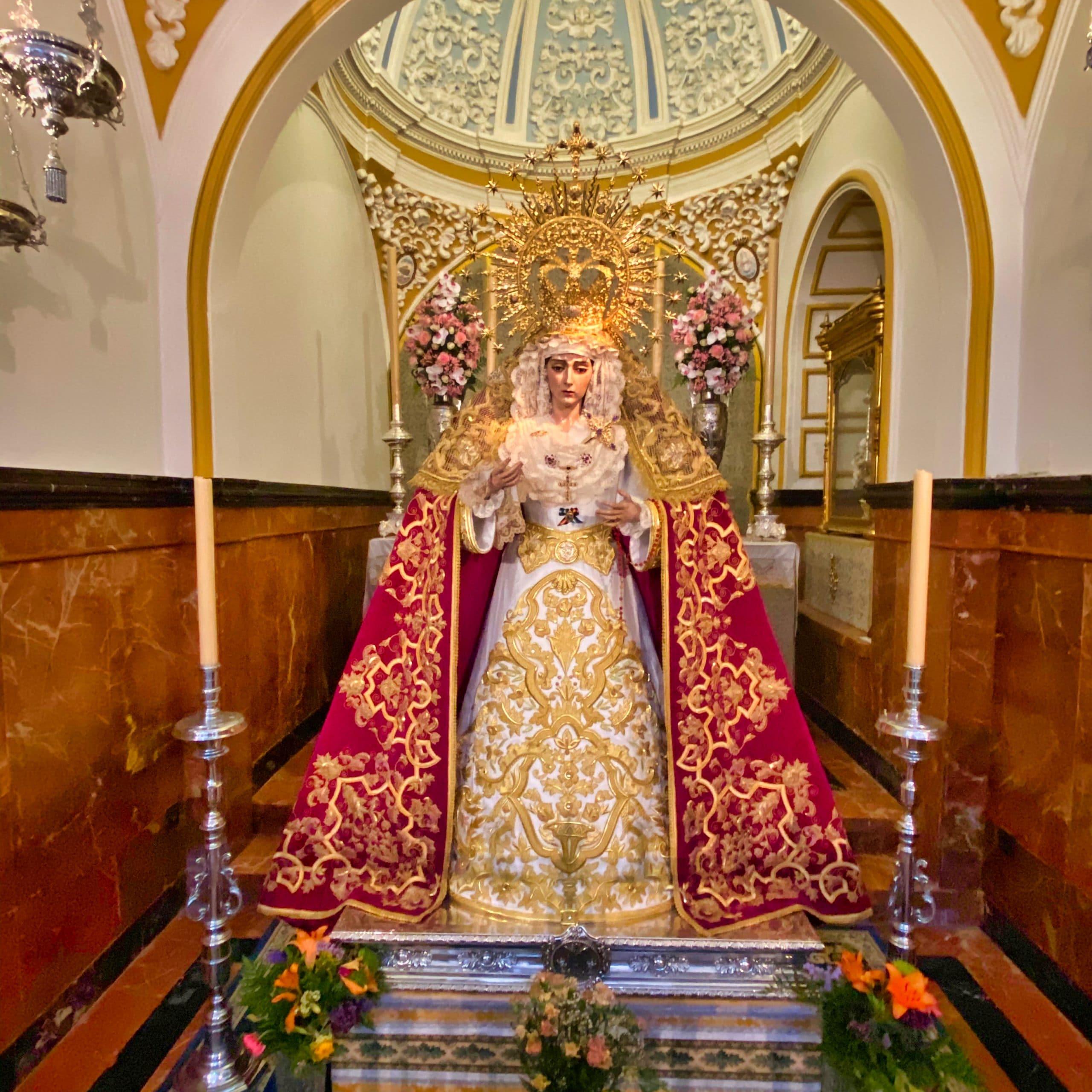 Lagrimas y Favores in der Kirche von San Juan