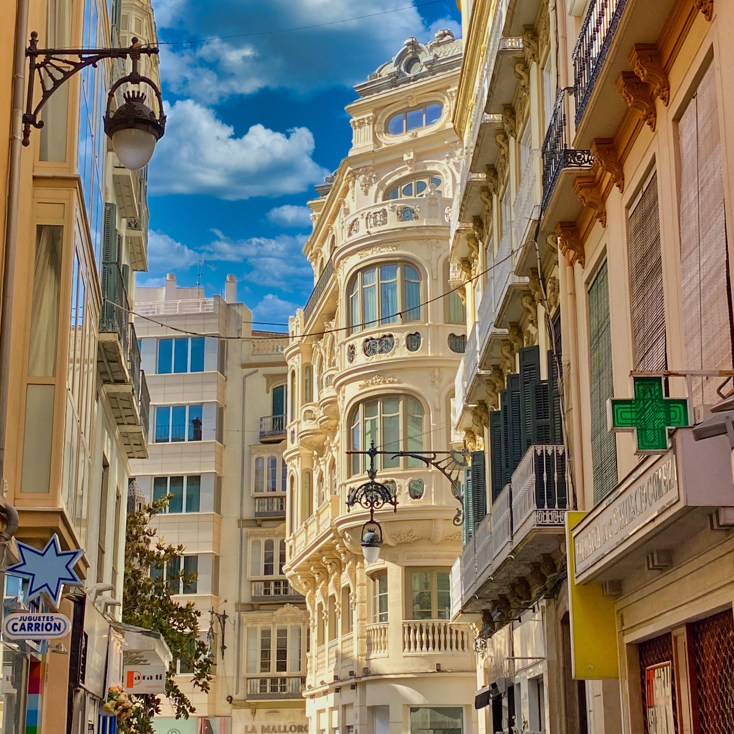 Calle San Juan in Malaga